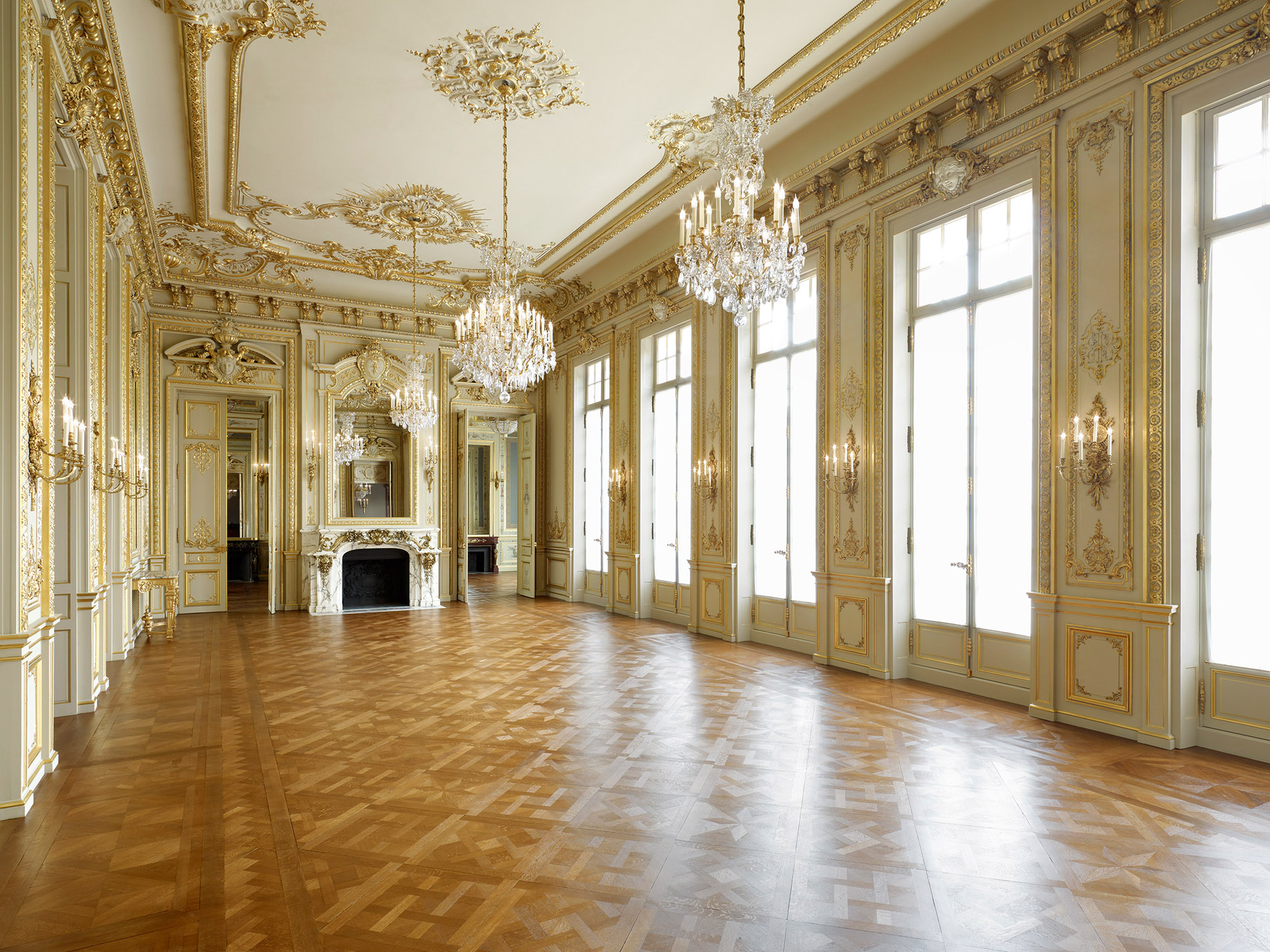 Grand Salon - Shangri La Hotel Paris