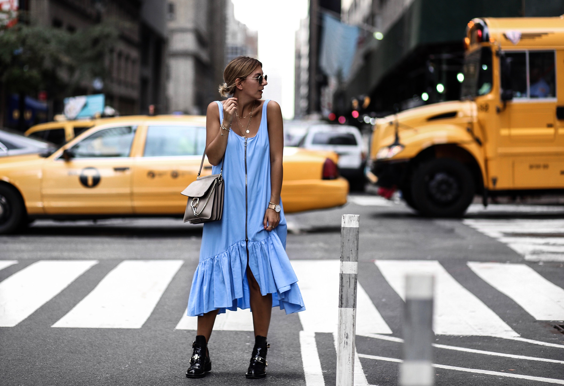 zara_blue_oversized_dress