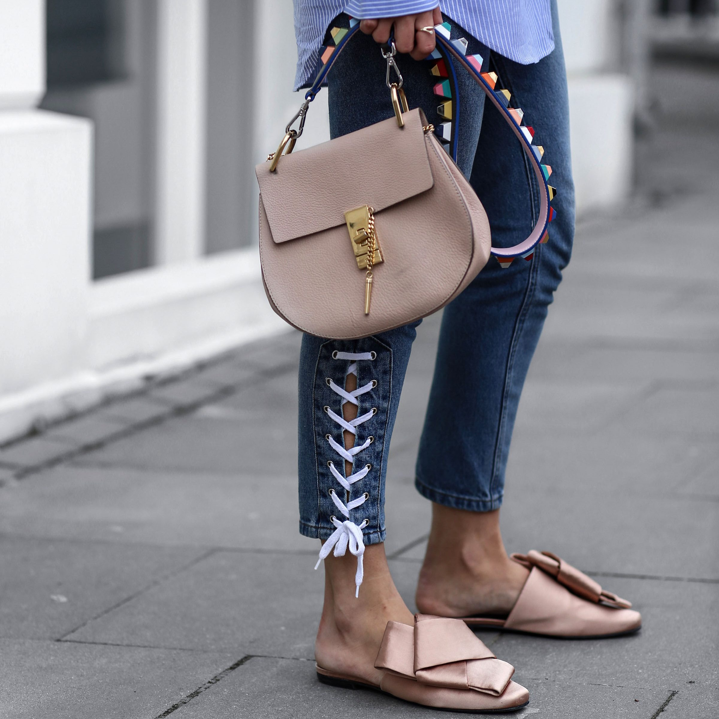 Lace up Jeans | Spring