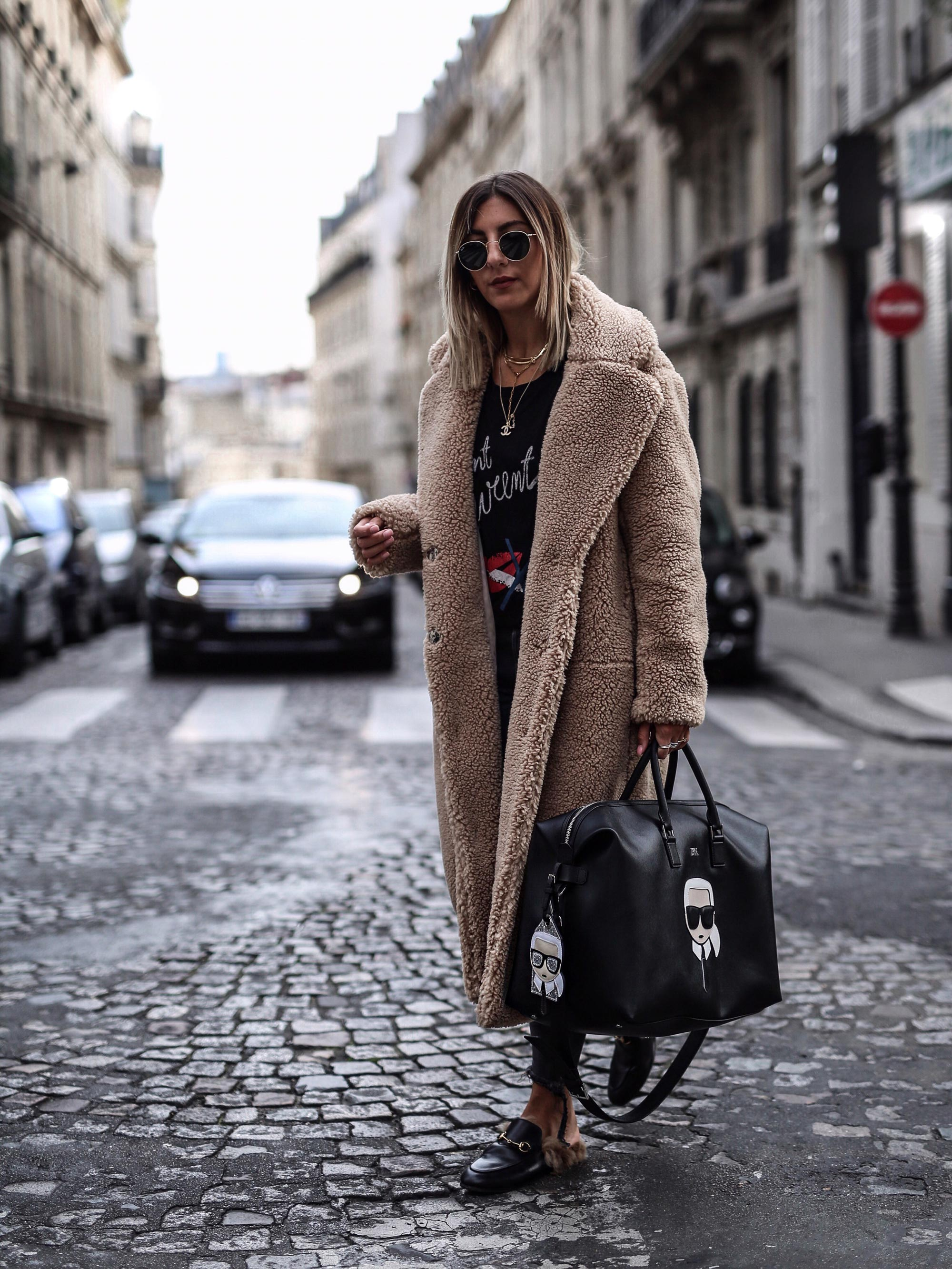 H&M_trend_teddy_coat_mantel_karl_lagerfeld_travel_bag